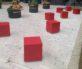 Cube Bollards  Barriers Context 3