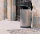 Single Fox Litter  Recycle Bins Context 3