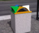 Topazio Litter  Recycle Bins Context 2