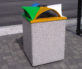 Topazio Litter  Recycle Bins Context 3