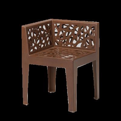 Color + Corten Style Seats