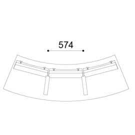 iBox ISR 2 Curve Backrest 574