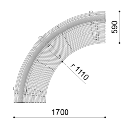 Libre LSI w/Backrest - Internal Curve