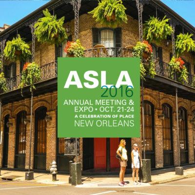 ASLA New Orleans 2016