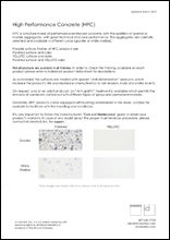 HPC Material Sheet