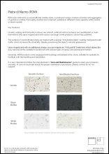 PDM Material Sheet