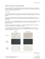 PDM Material Sheet PDF