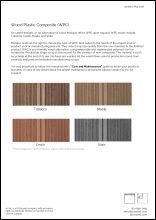 WPC Material Data Sheet